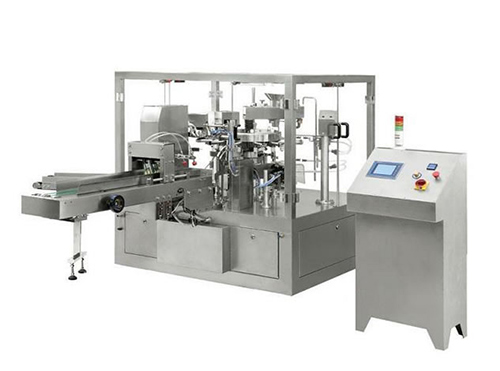 Rotary Bag Packaging Machine, Automatic Intelligent Type