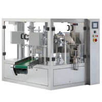 Pre-made pouch Bagger,Automatic counting