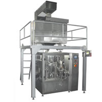Rice Weigh Fill Seal Production Line