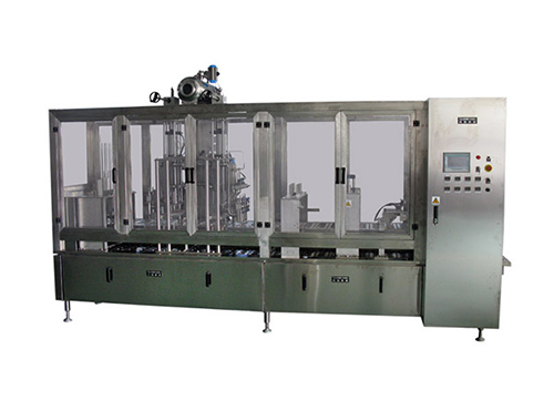 Horizontal Plastic Cup Filling and Sealing Machine