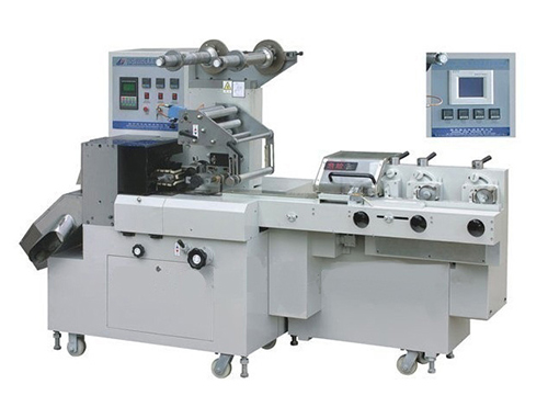 Cutting and Packaging Machine, Flow Type